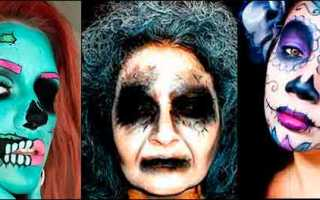 Белка примерила маску «Крика» на Хэллоуин